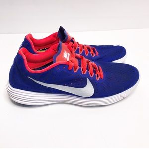 Nike Lunaracer 4 Running Shoe Purple Orange Size 9